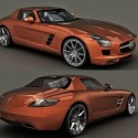 Mercedes Benz Sls Car