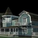 ضواحي البيت الأزرق