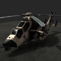 Tiger Helicopter Aircraft Free 3d Model