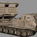 M270 Mlrs Weapon Free 3d Model