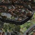 المشهد الخارجي لمدينة العصور الوسطى