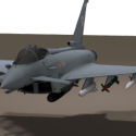 Eurofighter Typhoon Aircraft Free 3d Model