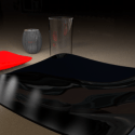 Food Set Dishes Cups Free 3d Model