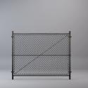 Metal Grid Fence