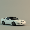 Pontiac Trans Car Free 3d Model