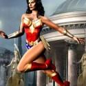 Wonder Woman Character 3d Model