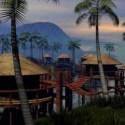 Tropical Paradise City BUilding