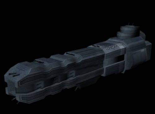 Spaceship Free 3d Model