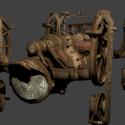 Gringotts Mine Cart Vehicle