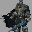 Arthas Lich King Rigged Character