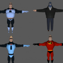 Mr Incredible  Character