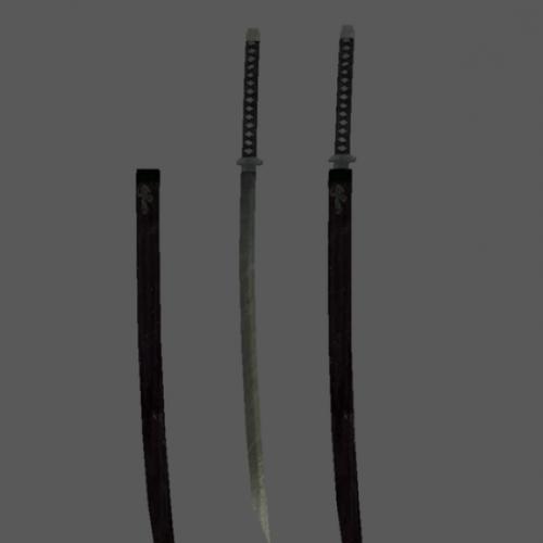 Yamato Sword Free 3d Model ID11659 - Free Download (obj,mtl