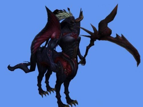 Baal Monster Character