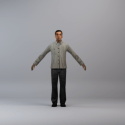 Stanley Man Character Free 3d Model