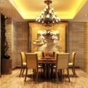 Luxury Restaurant Design Interior Scene