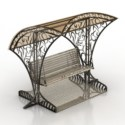Luxury Swing Waiting Station 3d Max Model Free