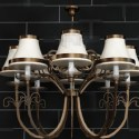 Combination Eight Lights Pendant 3d Max Model