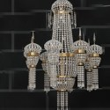 Crystal Curtain Chandelier 3d Max Model