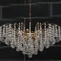 Heart Shaped Crystal Curtain Chandelier