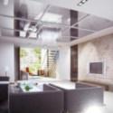 Neat Living Room Interior Scene