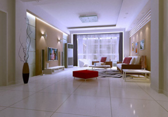Simple Living Room 3d Max Model Interior Scene 3dsMax