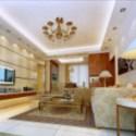 European Bright Living Room 3d Max Model Free