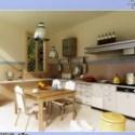 Fresh Kitchen Restaurant Interior Scene