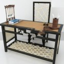 Retro Working Table Set 3d Max Model Free