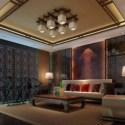 Asian Living Room Scene Interior 3d Max Model Free