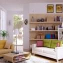 Modern Lovely Living Room Interior Scene