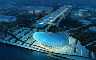 World Expo National Pavilion 3d Max Model (3ds,Max) Free