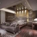 Spacious Bedroom Interior Scene