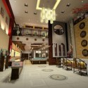 Luxury Jewelry Store Interior Scene