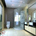 Bathroom Design Interior Scene