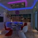 Exotic Restaurant Interior Scene