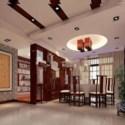 Chinese Restaurant Interior Scene