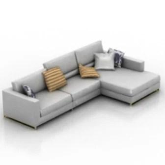 Sensational L Sofa Interior Free Free 3Ds Max Model 3Ds Max Inzonedesignstudio Interior Chair Design Inzonedesignstudiocom