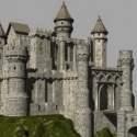 Rock Castle 3dsMax Model
