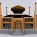 Islam Mosque Building 3dsMax Model