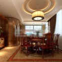 Interior Restaurant Scene