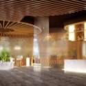 Interior Scene Office Lobby