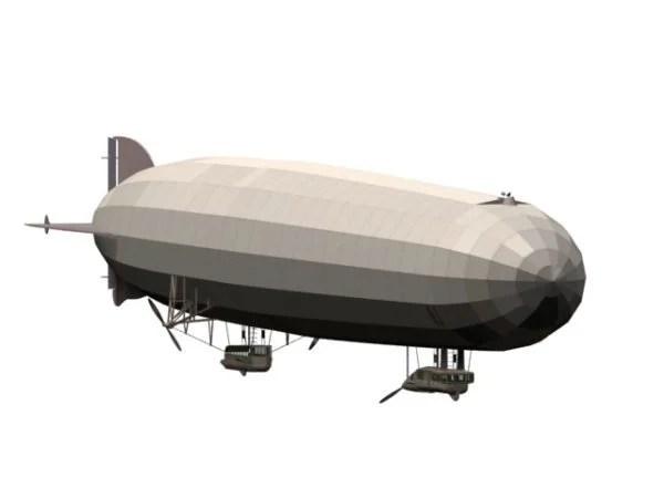 German Zeppelin Rigid Airship
