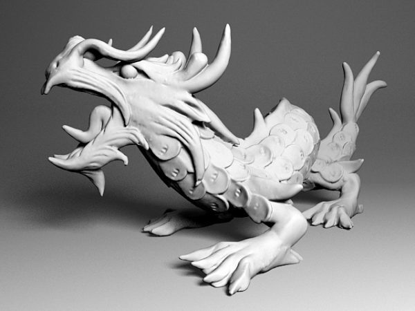 Japanese Dragon Sculpture