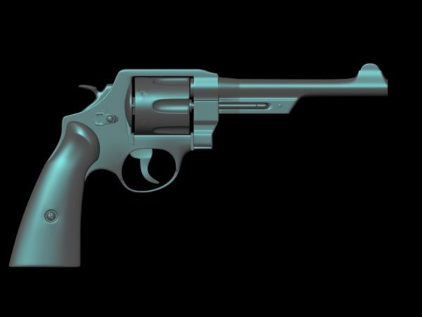 Revolver Pistol Gun