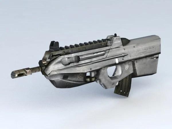 Fn F2000 Bullpup Assault Rifle