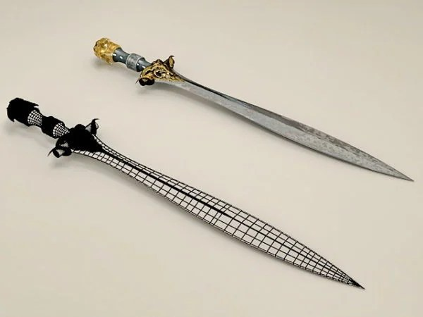Celtic Leaf Blade Sword