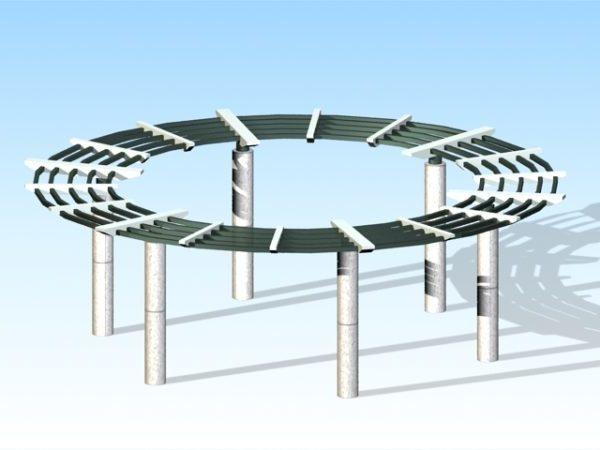 Circular Pergola Design
