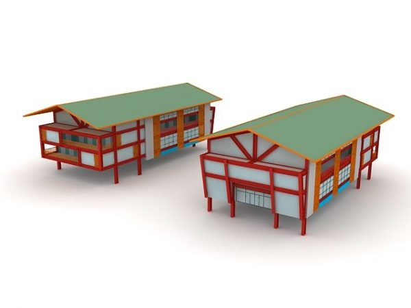 Stilted House Building
