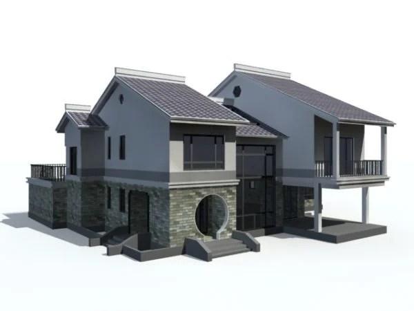 Chinese Style Villa Architecture