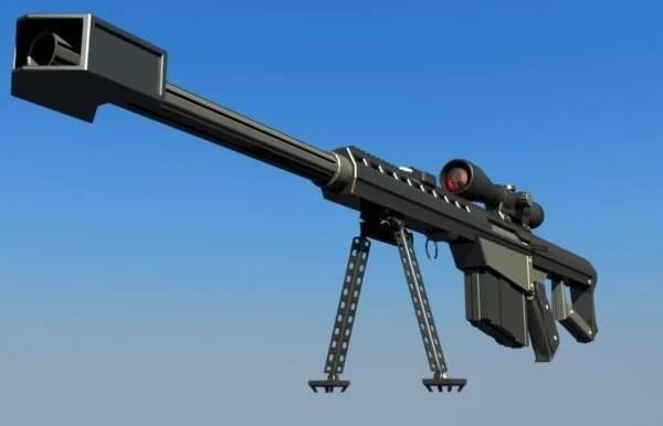 Military Barrett M82 Sniper Rifle